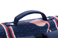 Jeune Premier - Flamingo - Beautiful blue school bag with flamingos for girls in primary school.