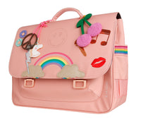 Cartable Midi Lady Gadget Pink
