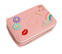 Pencil Box Filled Lady Gadget Pink