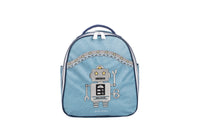 Jeune Premier - Robot - Trendy blue backpack with robot for boys in nursery school.