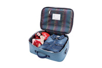 Jeune Premier - Robot - Trendy blue travel bag with robot for boys.