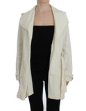 White Trench Coat Jacket