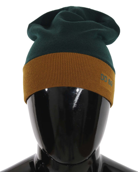 Yellow DD SG Logo Warm Wool Beanie Hat
