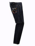 Dsquared2 - Damen Jeans - Medium Waist Skinny Jeans - Blue - Gr.IT 36
