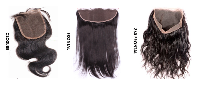 Difference Between Closures, Full Frontals, And 360 Frontals