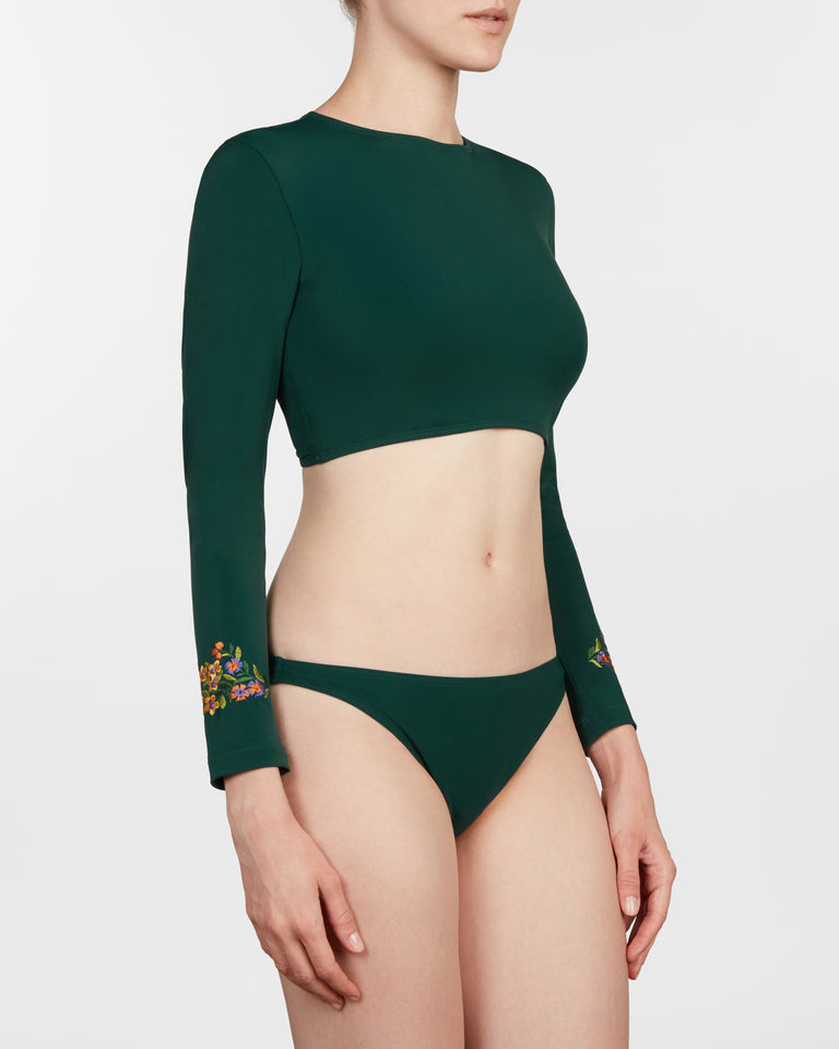 rash guard II set in forest - ALSTRAE