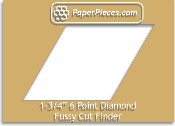 "1.75"" 6 Point Diamond Fussy Cut Finder"