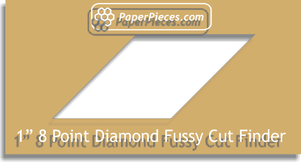 "1"" 8 Point Diamond Fussy Cut Finder"
