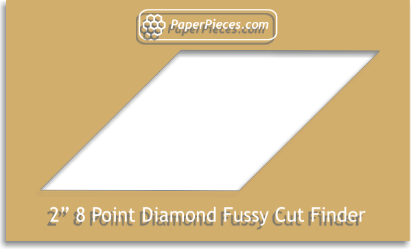 "2"" 8 Point Diamond Fussy Cut Finder"