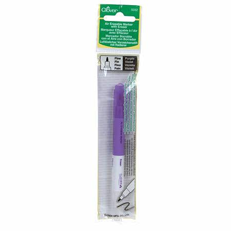 Air Eraseable Marker with Eraser Purple
