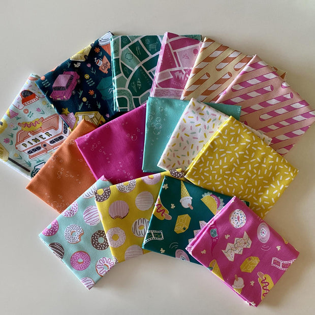 American Road Trip Fat Quarter Bundle