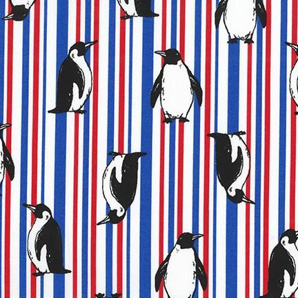 Animal Club Striped Penguins White