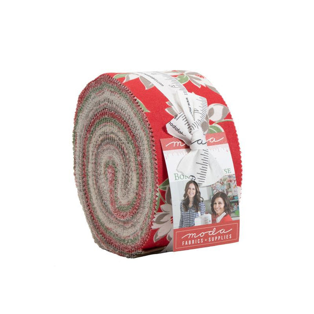 At Home Jelly Roll Red Colorway
