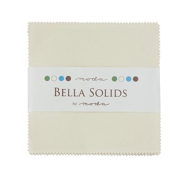Bella Solids Charm Pack Cream