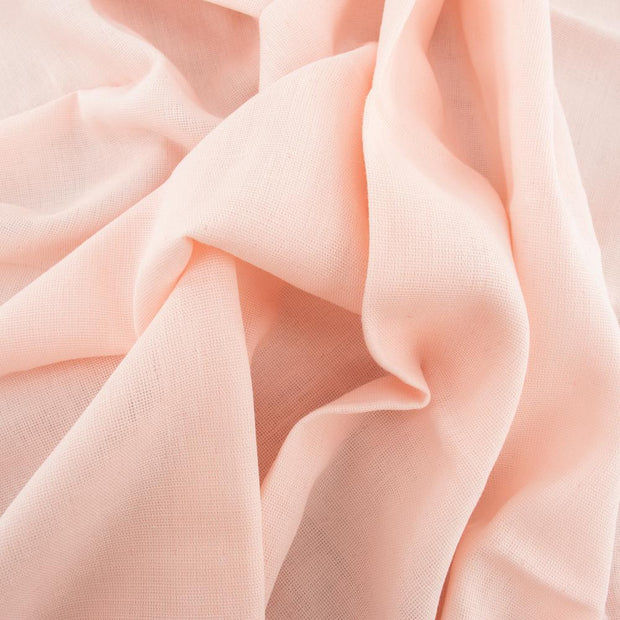 Blush Solid Double Gauze