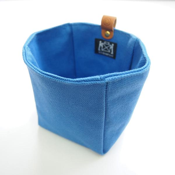 Canvas Knickknack Bag Blue