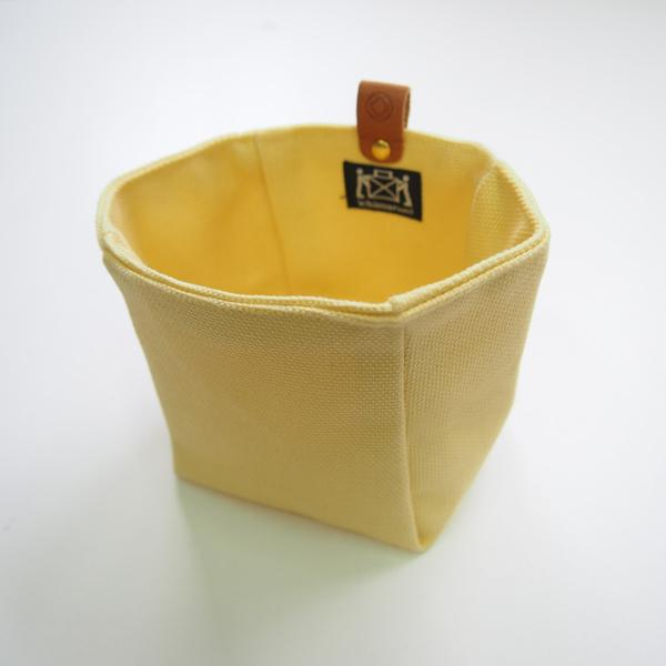 Canvas Knickknack Bag Yellow