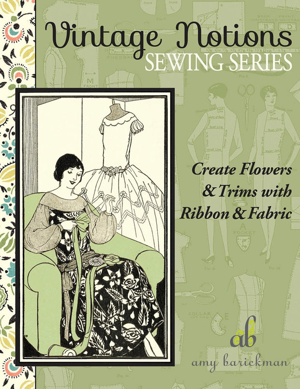 Creating Flowers & Trim with Ribbons