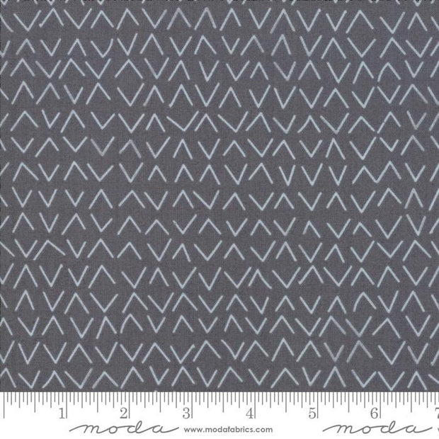 Day In Paris Graphite Metallic Arrows Grey