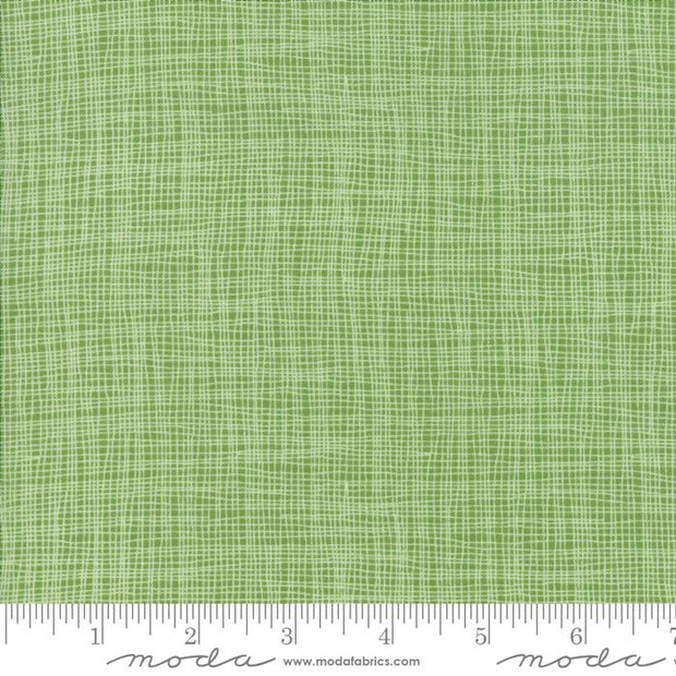 Day In Paris Grass Metallic Grid Light Green