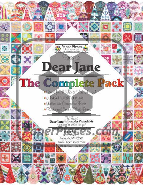 Dear Jane Complete Piece Pack