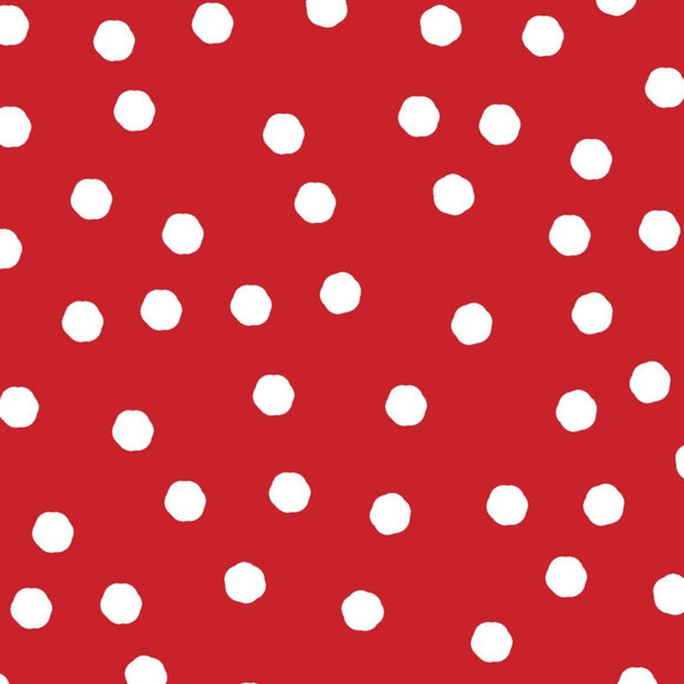 Dot and Stripe Delights Red Polka Dots Small