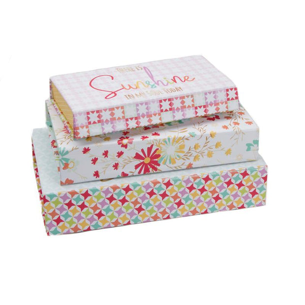 Pencil Box 3 ct Sunnyside Up