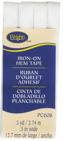 Iron On Hem Tape White 3 Yards