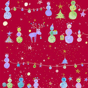 Holiday Minis Snowman Red