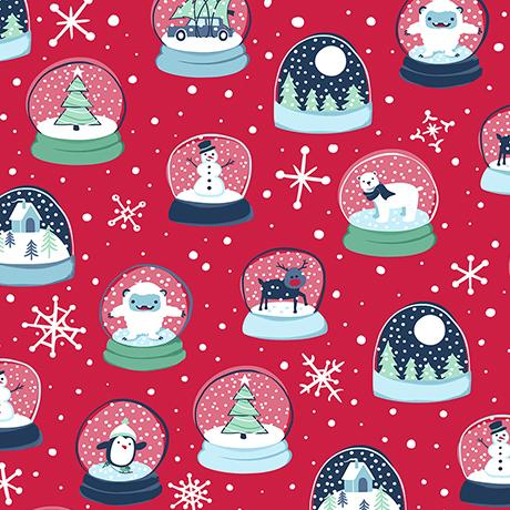 Twinkle Twinkle Snow Globes Red