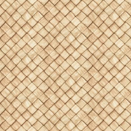 Ambrosia Farm Basketweave in Tan