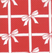 Vintage Holiday Red Present Wrap