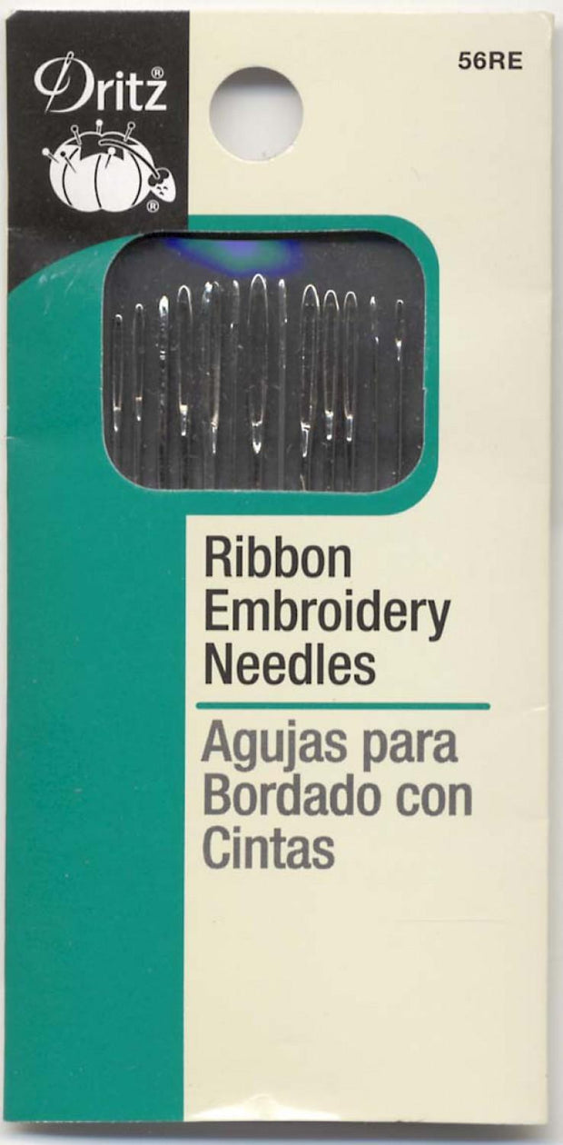 Ribbon Embroidery Needles Assorted
