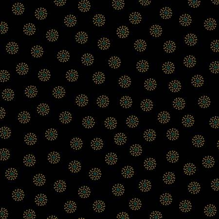 Clustered Dots - Black