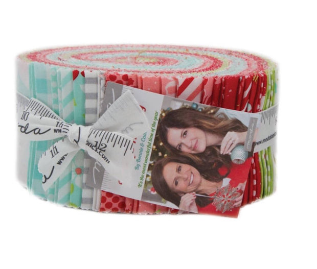 Vintage Holiday Jelly Roll