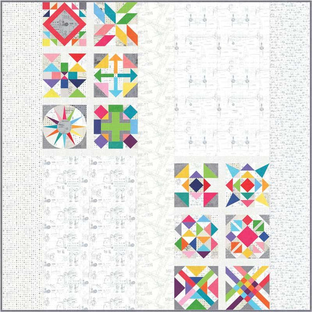 Spotted Quilt Kit by Zen Chic