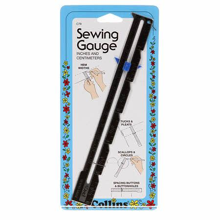 Sewing Gauge with Slider