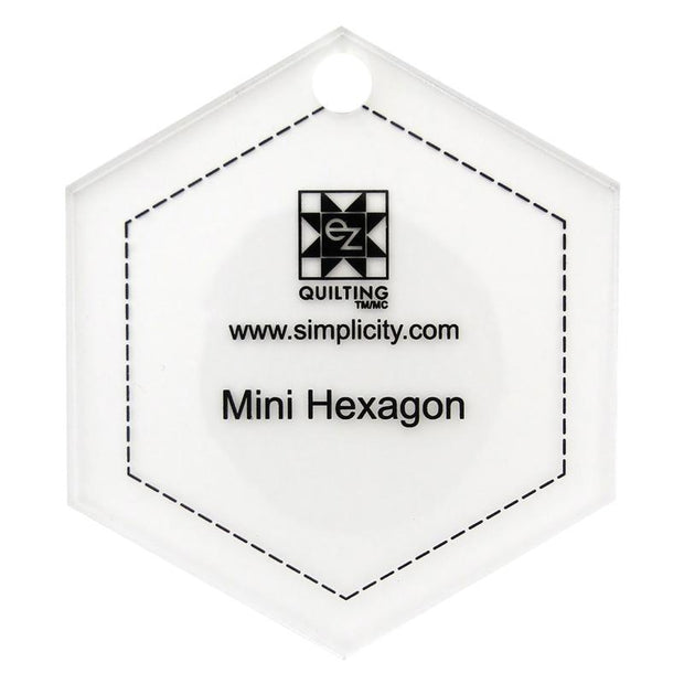 Jelly Roll Ruler Mini Hexagon