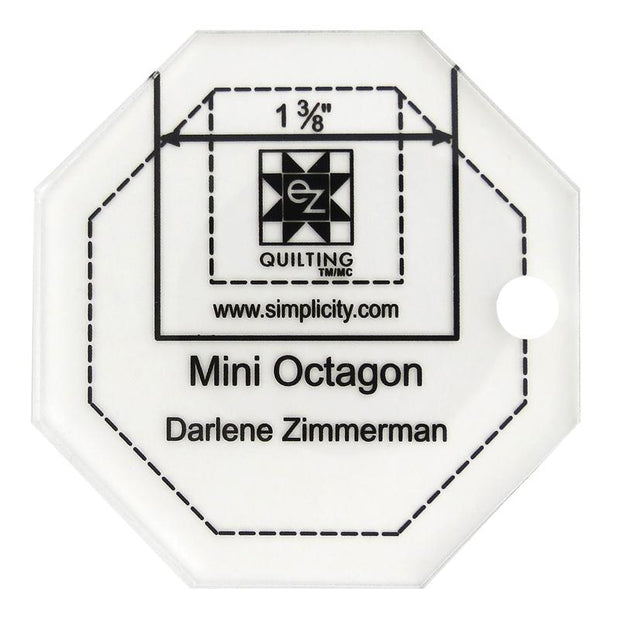 Jelly Roll Ruler Mini Octagon