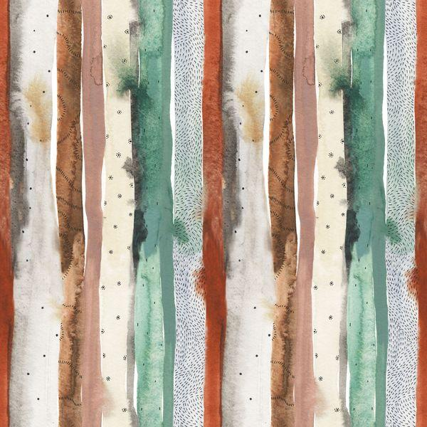 Desert Wildness Stripes Green