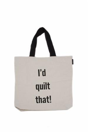 I'd Quilt That Tote Natural