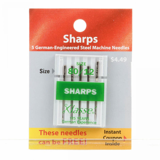 Sharps Needles Size 80