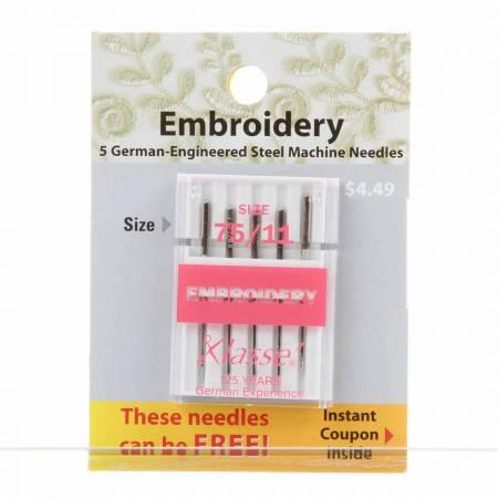 Embroidery Needles Size 75