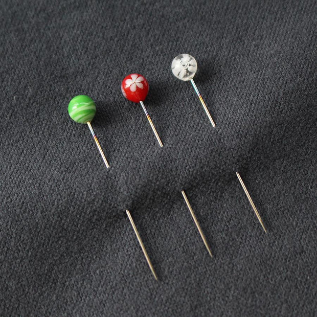 Winter 2019 Glass Head Pins