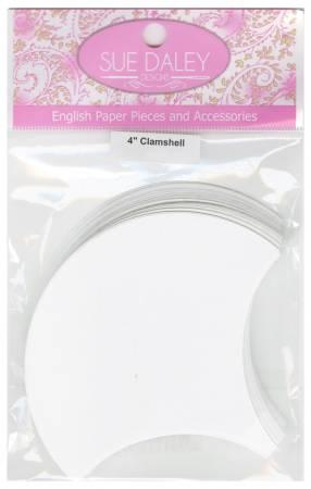 "4"" Clamshell Papers 100 pc"