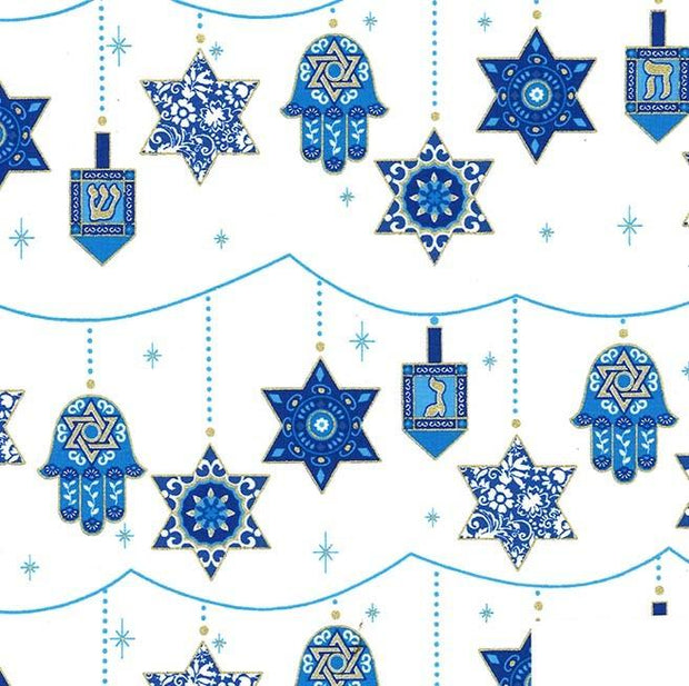 Festival of Lights Peace, Love and Light Star Hanukkah
