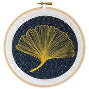 Ginkgo Embroidery Kit Pattern