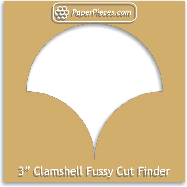 "3"" Clamshell Fussy Cut Finder"
