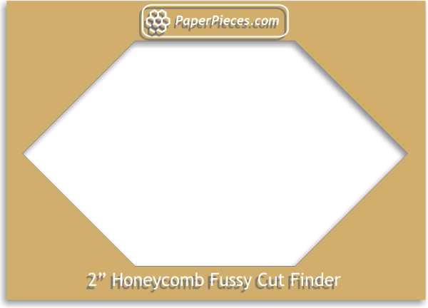 "2"" Honeycomb Fussy Cut Finder"
