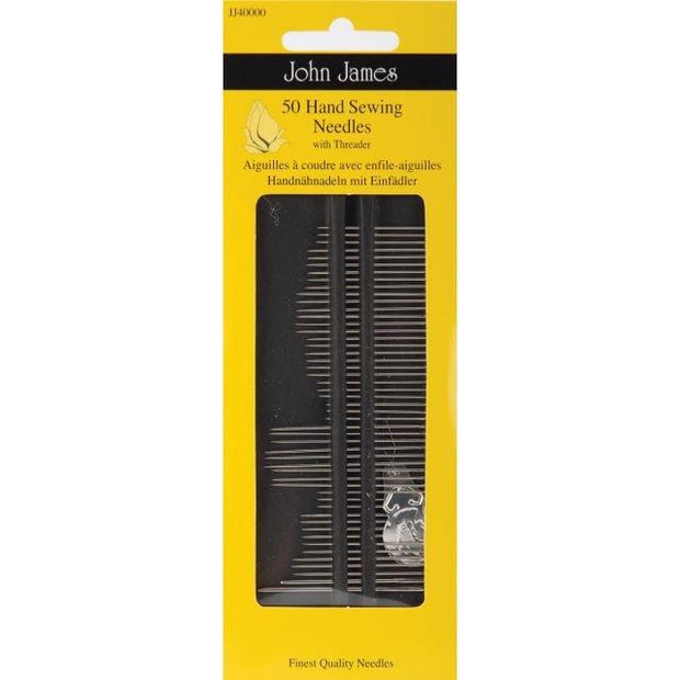 Assorted Hand Sewing Needles 50ct
